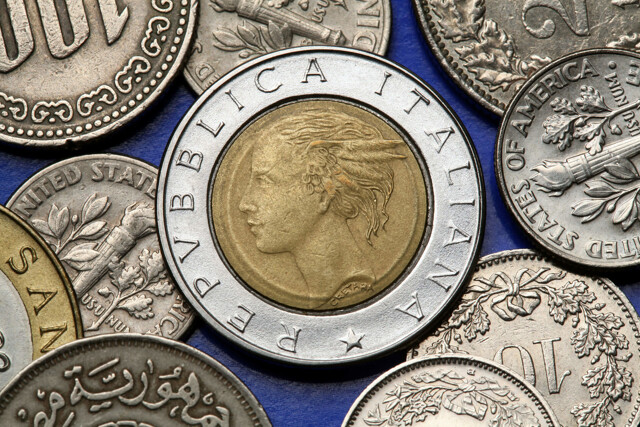 Italienische Geldmünzen