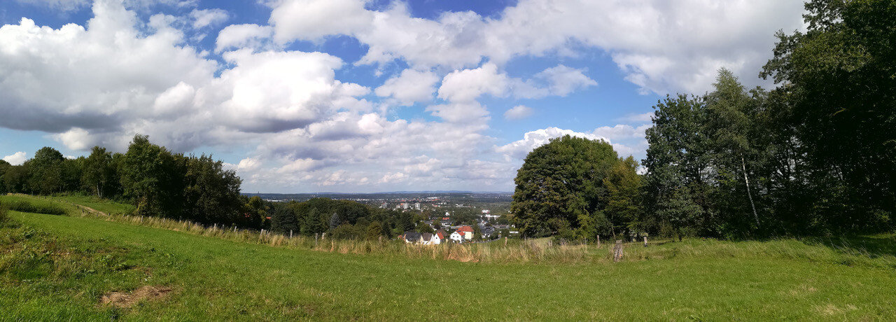 Bielefeld und Wiehengebirge