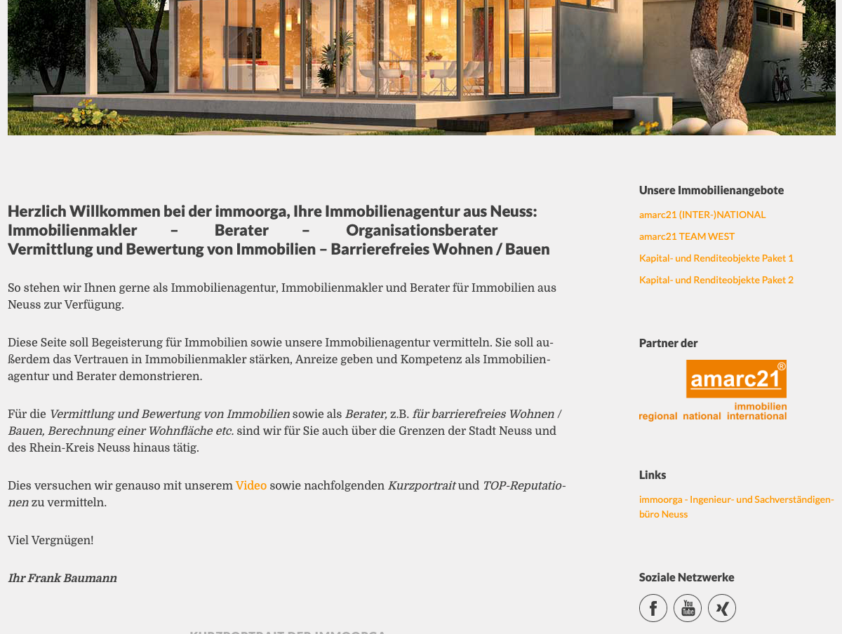 Co-Branding, bei amarc21 Immobilien Franchise gewünscht