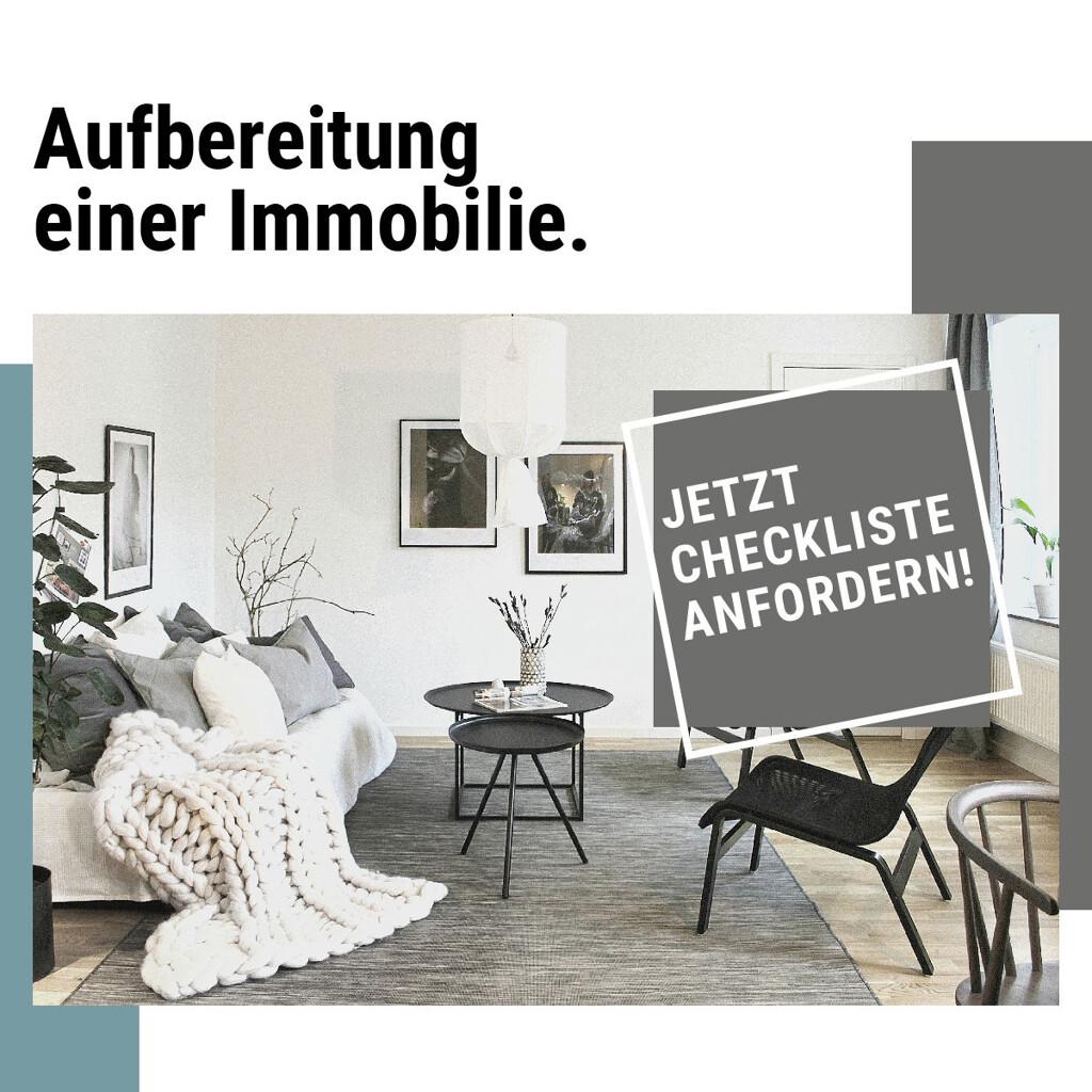 Checkliste Aufbereitung der Immobilie