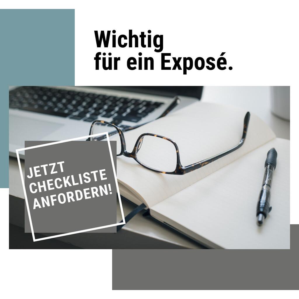 Checkliste: Exposé
