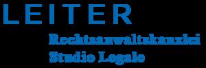 Logo Leiter Rechtsanwaltskanzlei Studio Legale