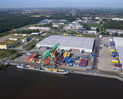 Hafen Logistikzentrum