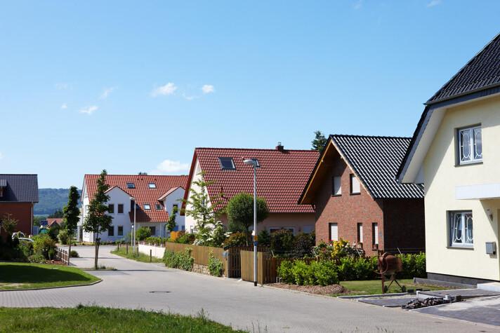 Einfamilienhäuserreihe