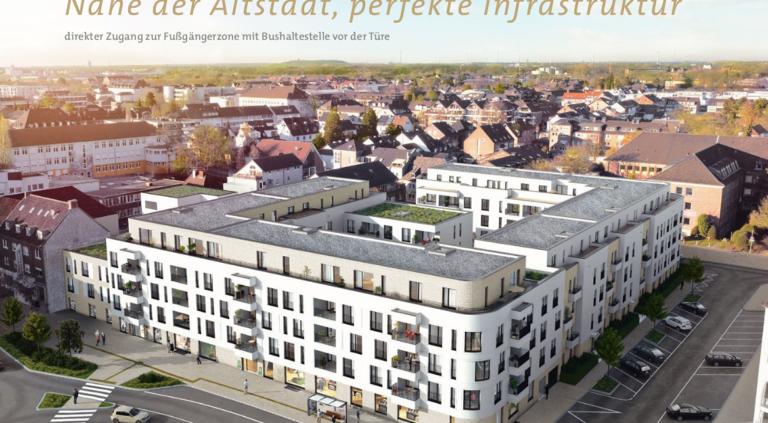 Modellierter Neubau