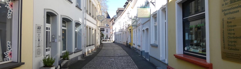 Gasse in der Moerser Altstadt