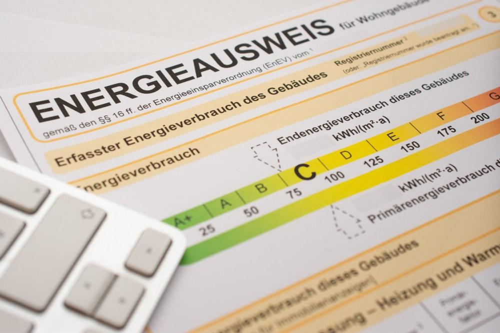 Energieausweis-Skala