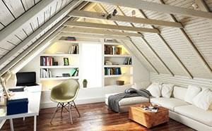 Helle Dachgeschosswohnung
