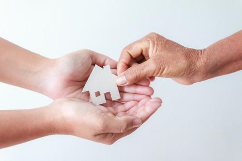 Immobilienaufnahme